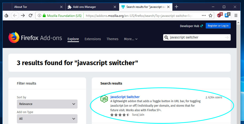 How to turn off JavaScript in the Tor Browser – MyHowToOnline